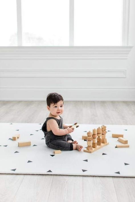 Little Bot Baby Play Mat (Ofie Mat, Country Road + Triangle)