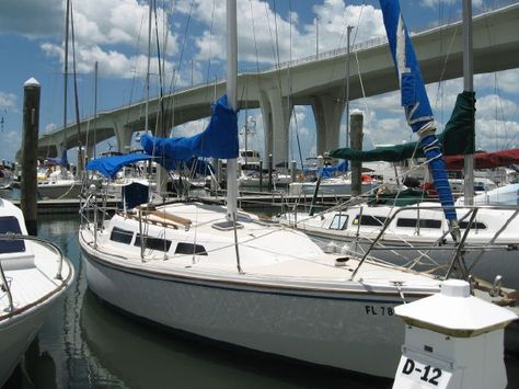1984 Catalina 27 Sail Boat For Sale - www yachtworld com