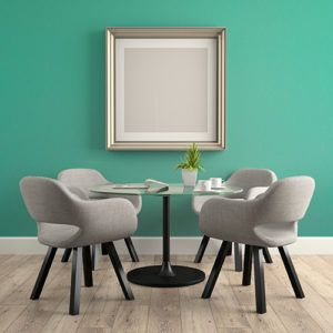 Peel And Stick Wall Dining Room Table With Teal Peel And Stick Removable Wallpaper Or Paint Home Decor Removable Wallpaper For Renters Glass Table