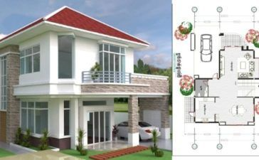 Two Bedroom Small House Design Phd 2017035 Amazing Architecture Magazine Kerala House Design Small House Design House Design