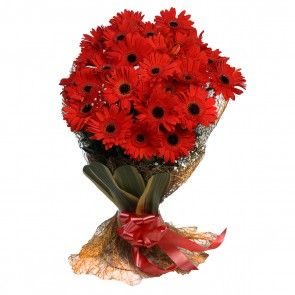 1 New Message In 2020 Send Anywhere Gerberas Bouquet