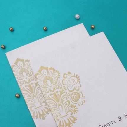 Wedding Invitation - WI1430 Buy Designer Invitations Online - invitation card kolkata