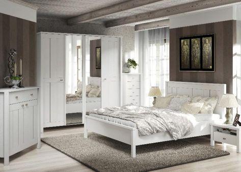 Schlafzimmer Komplett Village - Ganz in Weiss Ganz im - landhausstil schlafzimmer weiss ideen