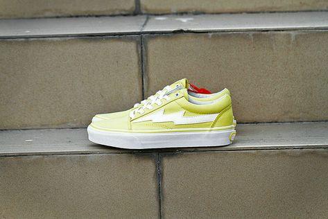Vans Kanye Revenge x Storm Old Skool Lemon Yellow White