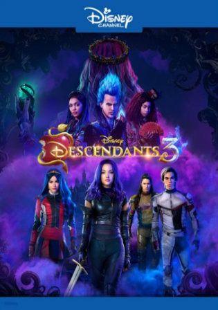 Descendants 3 2019 Webrip 850mb Hindi Dual Audio 720p In 2020 Disney Channel Descendants Movie Soundtracks Disney Descendants