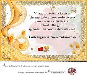 Biglietti Di Matrimonio Con Frasi Auguri Di Nozze Frasi Per Matrimoni Matrimonio