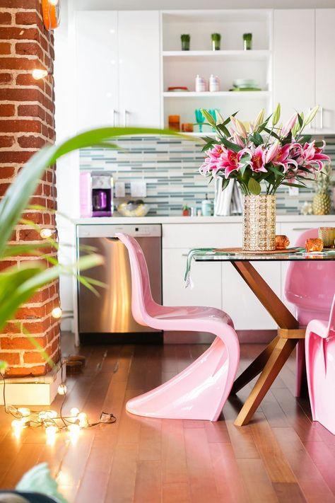 Chaise Panton L Icone Design Des Annees 60 Appartement Colore
