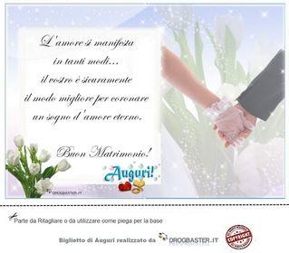 Bigliettini Auguri Matrimonio Matrimonio Nozze Biglietto Di Auguri