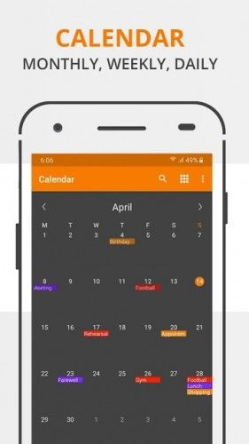 Simple Calendar Pro Events Reminders V6 5 7 Apk Android