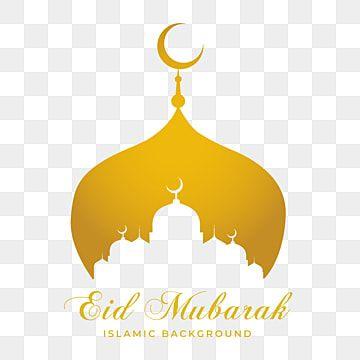 Golden Mosque Eid Mubarak Background Eid Ramadan Kareem Png And Vector With Transparent Background For Free Download Eid Mubarak Eid Mubarak Background Happy Eid