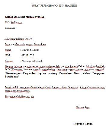 Contoh Surat Balasan Izin Penelitian Skripsi Dari Perusahaan Surat Penelitian Pengusaha