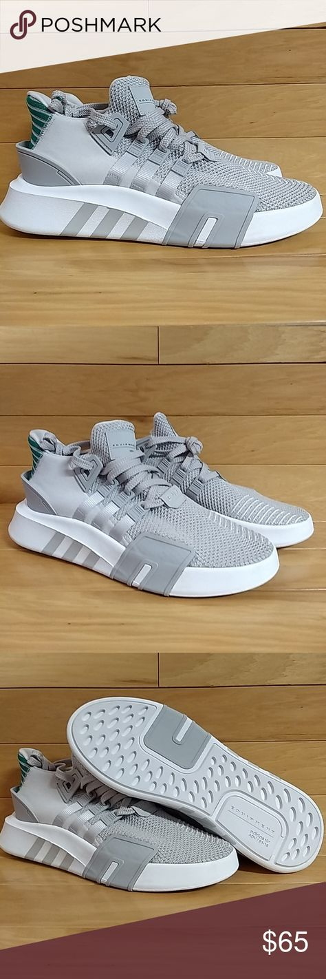 check out d979e eb806 Adidas EQT Bask ADV Basketball Shoe CQ2995 Item Adidas EQT Bask Adv Code  CQ2995 Colorway Grey OneGrey OneSub Green Condition New. With Box.