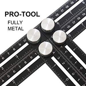 Angleizer Modèle Outil pliable multi angle Règle De Mesure Scale