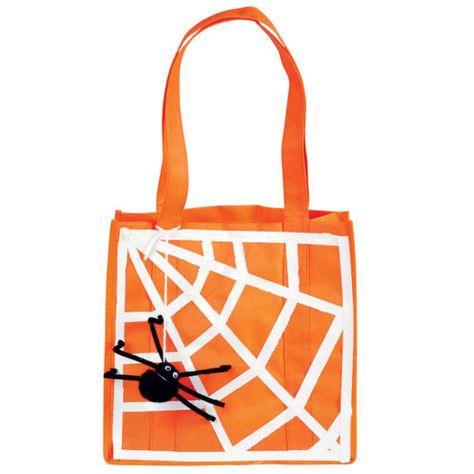 DIY Halloween Spider Treat Bag