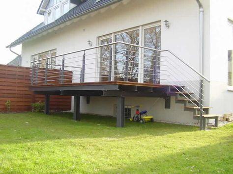 Stahl Terrasse terrasse ideen aus stahl - dirk john | terassenidee | balkon
