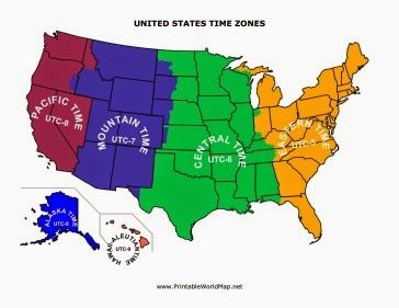 Best Eastern Time Zone Ideas On Pinterest Standard Time - Zambia time zone map