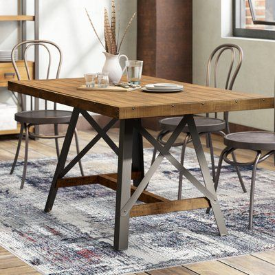 Trent Austin Design Laguna Reclaimed Solid Wood Dining Table Reviews Wayfair Dining Table In Kitchen Reclaimed Wood Dining Table Wood Dining Table