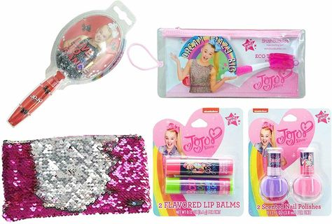 (🏷 Price $19.99 🎀) JoJo Siwa Cosmetic and Grooming Bundle (5 Items in Bundle) Gift Ideas for Girls