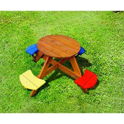 Folding Picnic Table, Children's Patio Furniture