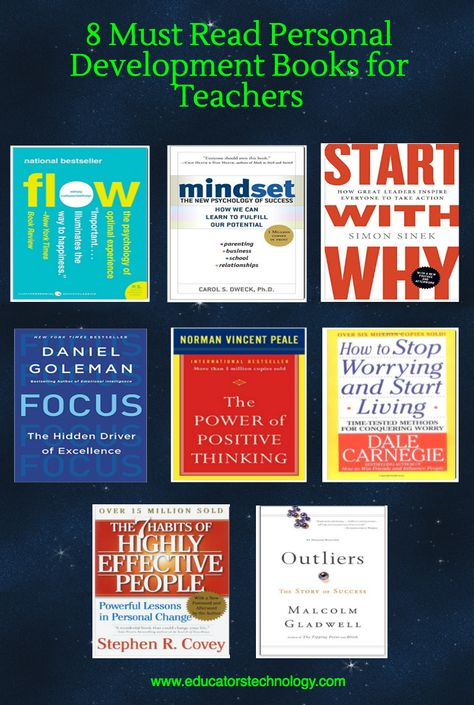 A Collection of Some Very Good Personal Development Books for Teachers