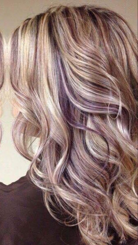 37+ Brown hair with blonde and purple highlights trends