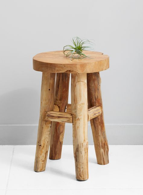 Awe Inspiring 18In Round Teak Stool Homebody In 2019 Furniture Teak Inzonedesignstudio Interior Chair Design Inzonedesignstudiocom