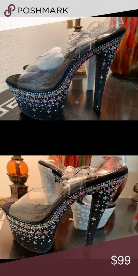 Pleaser Sky308Cross/c/b Pleaser Sky308Cross/c/b Shoes Heels