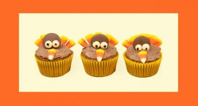 Edible #Thanksgiving #Crafts for Kids #holiday #recipes