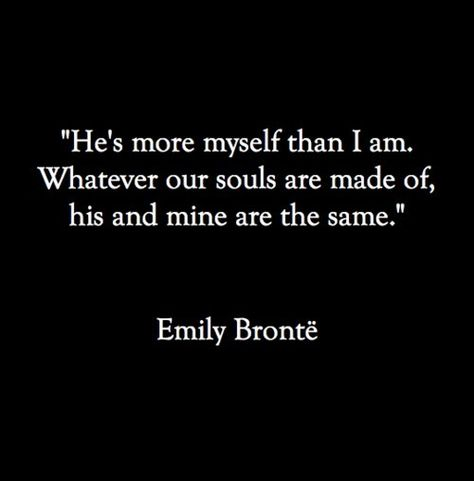 One thing I like by a Bronte