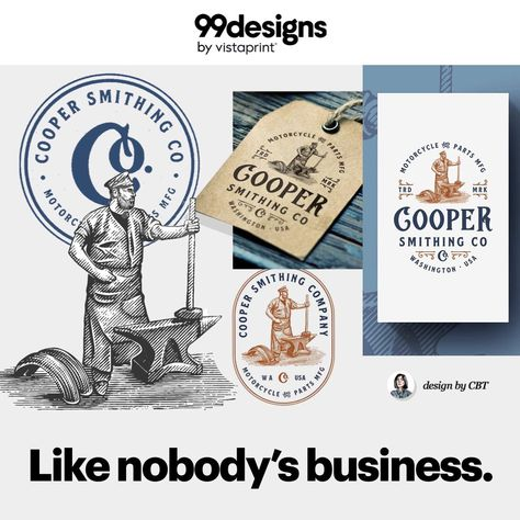 Get a new logo that's unforgettably you with 99designs