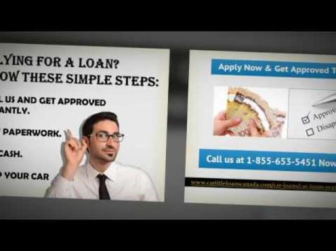 If You Have a Bad Credit, Apply For A Loan With Car Title Loans ...