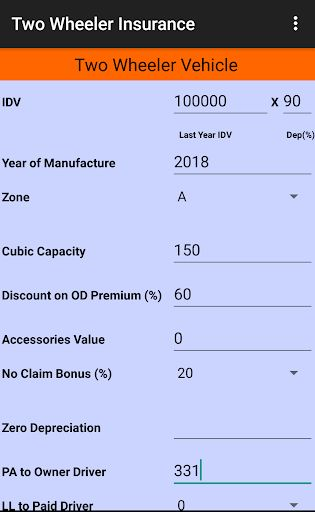 Motor Insurance Calculator Free 8 0 3 Mod Apk Premium No Ads New Full Version Free Download In 2021 How To Memorize Things Camera Apps Application Android