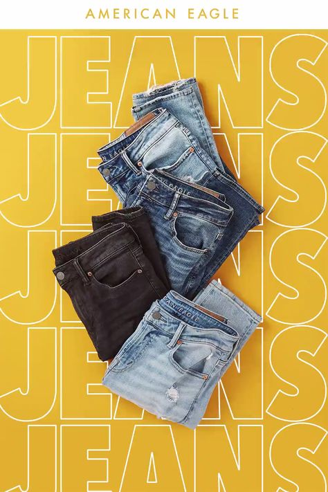 AE Jeans. Their favorite gift, guaranteed.