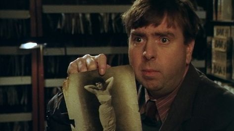 Timothy Spall as Oswald Bates in the BBC television play Shooting the Past, directed by Stephen Poliakoff, 1999. From the essay: On My Screen: Shooting the Past