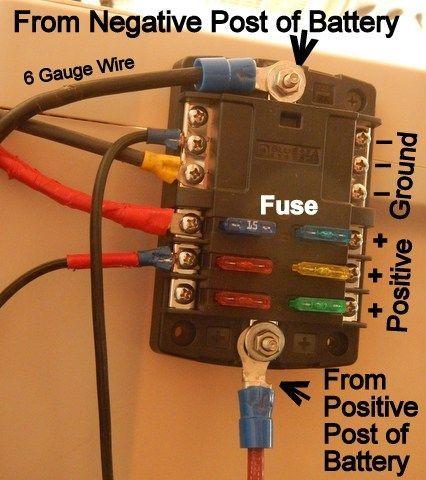 [SCHEMATICS_43NM]  Pin on amigurumi | Alternate Wiring 12 Volt Fuse Box |  | Pinterest