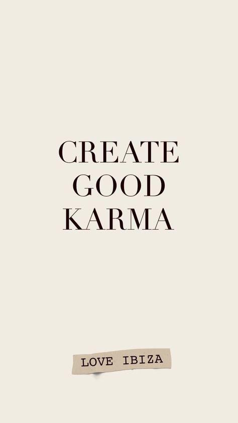 #motivationalquotes #quoteoftheday #quotestoliveby #quotesaboutlife #karma #Create #good #Karma #Motivational #quote #quotes short instagram