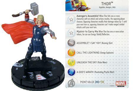 Marvel Heroclix Avengers Age of Ultron Movie 005 Thor