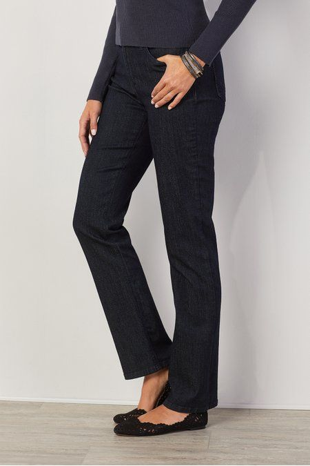 Nydj Marilyn Straight Jeans - Nydj Jeans, Straight Leg Jeans | Soft Surroundings Outlet