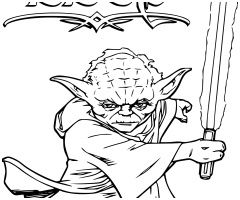 Coloriage Yoda 9 Utile Coloriage Yoda Pictures 49
