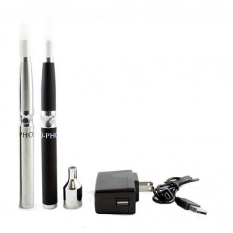 The Ophos Vaporizer pen is a standard 3.7v vaporizer that uses 1.5 ohm or 2.4 ohm replacement cartridges that are manually filled with liquid concentrates. This package comes with one heat sleeve, one 2.4 ohm cartridge, one mouthpiece, one 900 mAh battery, a USB battery charger and wall adapter with US plug, a fill tool, rugged carrying case and an instruction booklet.
