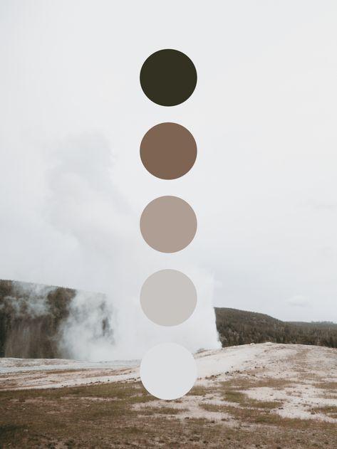 How to Choose The Colour Palette For Your Wardrobe « instyles. Earthy Color Palette, Colour Pallette, Neutral Color Scheme, Rustic Color Palettes, Sheila E, Brown Color Schemes, Foto Instagram, Color Swatches, Color Stories