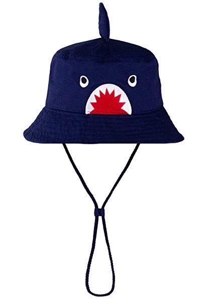 Kids Boys Girls Summer Wide Brim Sun Hat UPF 50+ 3T-7T
