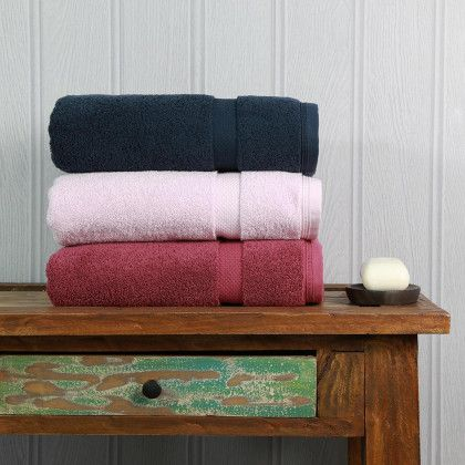 View Our Full Range Of High Quality Bath Towels At Exclusive