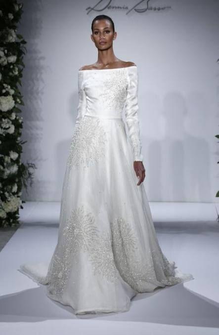 33 Ideas For Dress Long Summer Wedding Fall 2015 Dress Wedding Wedding Dress Long Sleeve Snowflake Wedding Dress Bridal