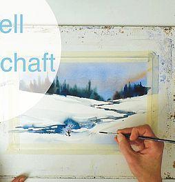 Malen Zeichnen Lernen Malen Lernen Aquarellmalerei