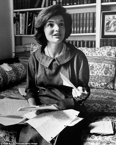 Photo of The private world of Jackie Kennedy: Rare pictures provide a glimpse of an American icon as doting m