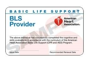 American Heart Association Aha Bls Healthcare Provider Card Five Things About American Hea American Heart Association Cpr Card Healthcare Provider