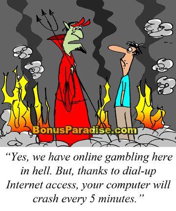 Will gambling send you to hell casino training florida