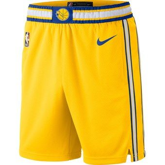 Nike Golden State Warriors City Edition Swingman Dri-FIT Basketball Shorts Gold