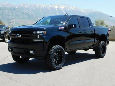For Sale 2019 Chevrolet Silverado 1500 Rst Z71 Lifted Chevy Crew Cab Rst Z71 4x4 Custom New Wheels Chevrolet Silverado Chevrolet Silverado 1500 Silverado 1500
